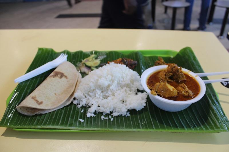 Reis mit Butter Chicken