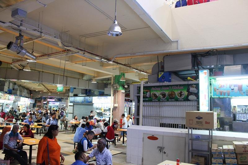 Tekka Centre in Singapur