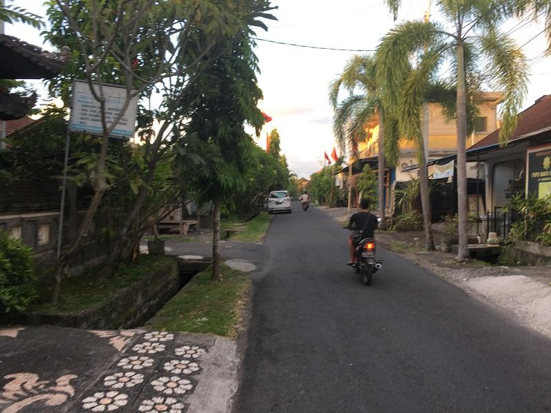 Linksverkehr auf Bali