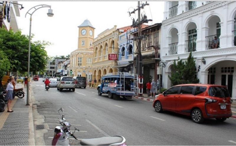 Phuket - Alter Uhrturm