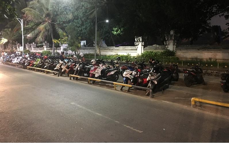 Polizeikontrolle auf Bali