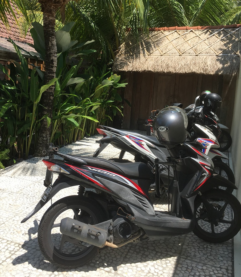 Roller mieten auf Bali
