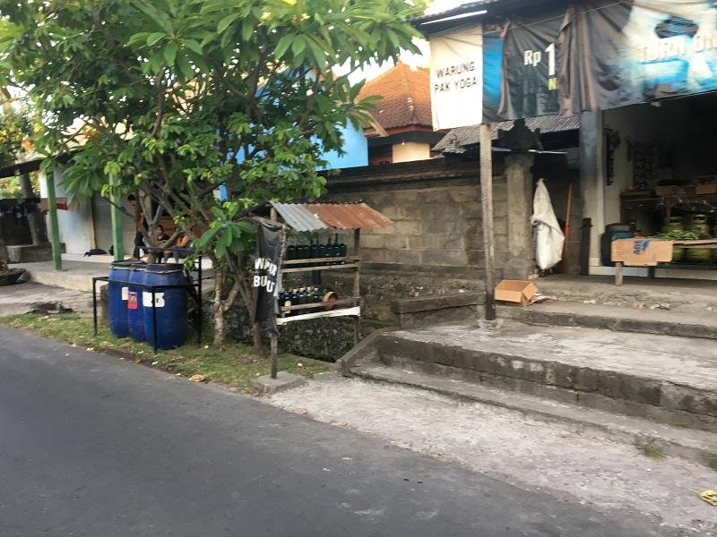 Tankstelle auf Bali
