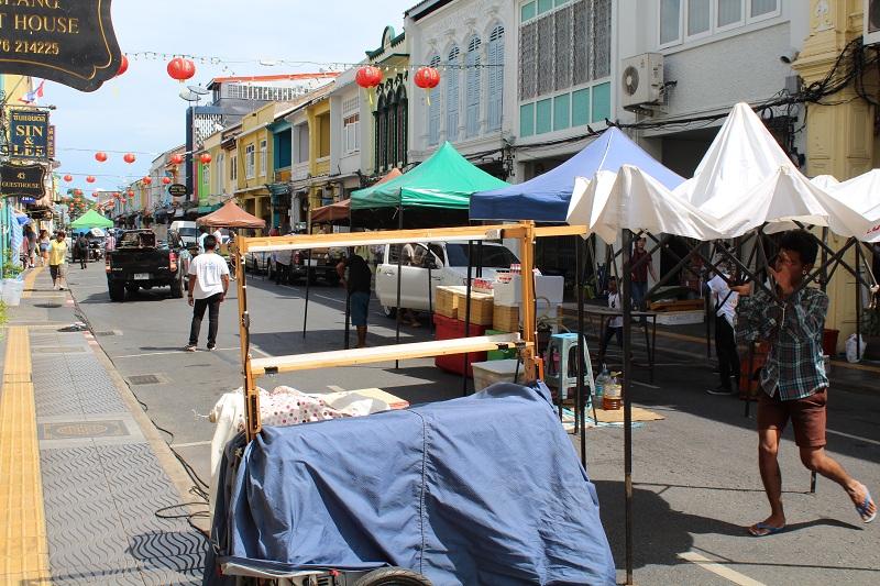Thalang Road Markt in Phuket