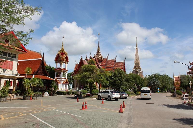 Wat Chalong Tempelanlage