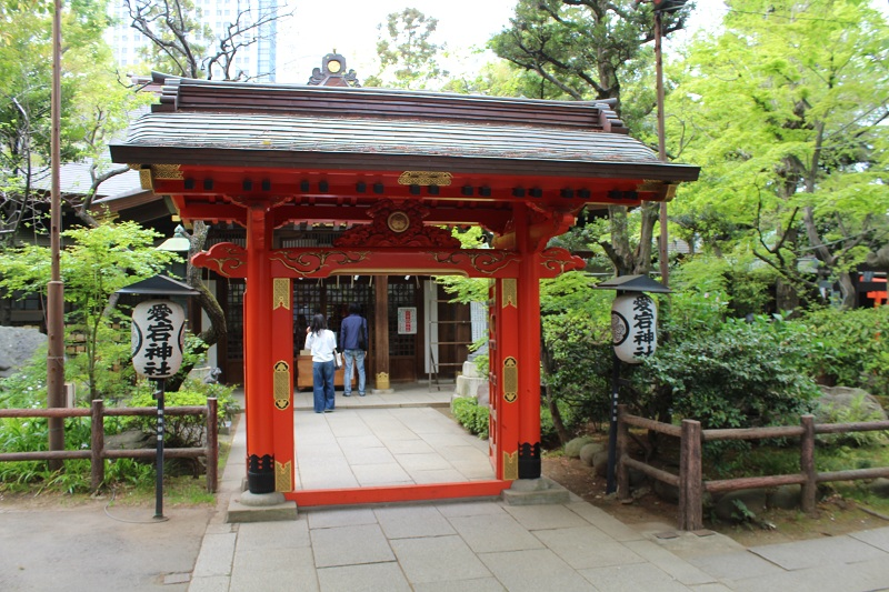 Atago Tempel - Schrein