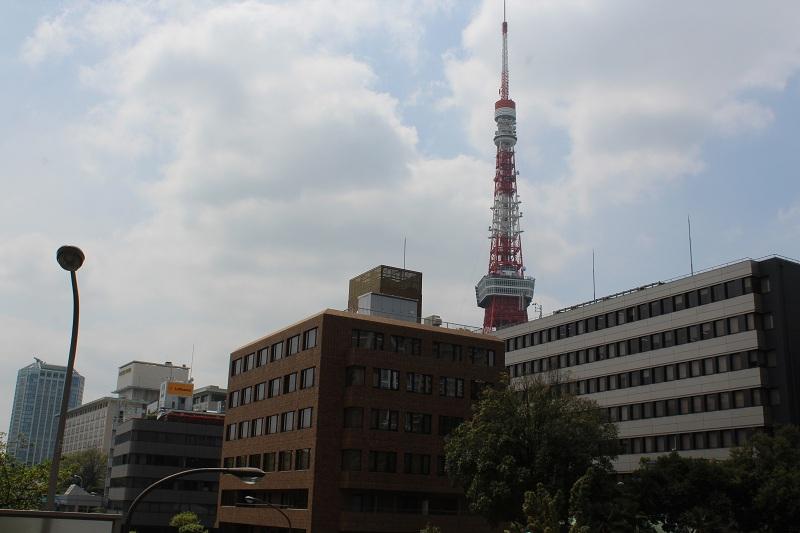 Blick auf den Tokyo Tower