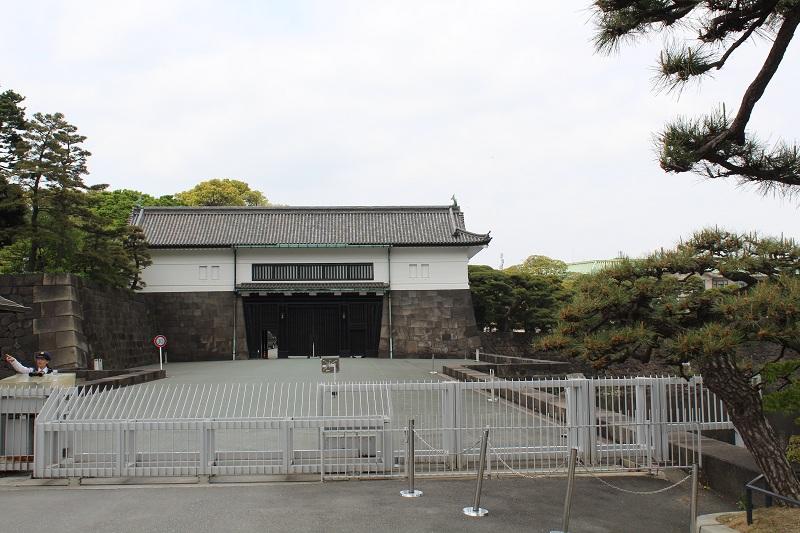 Eingang zum Kaiserpalast Tokio