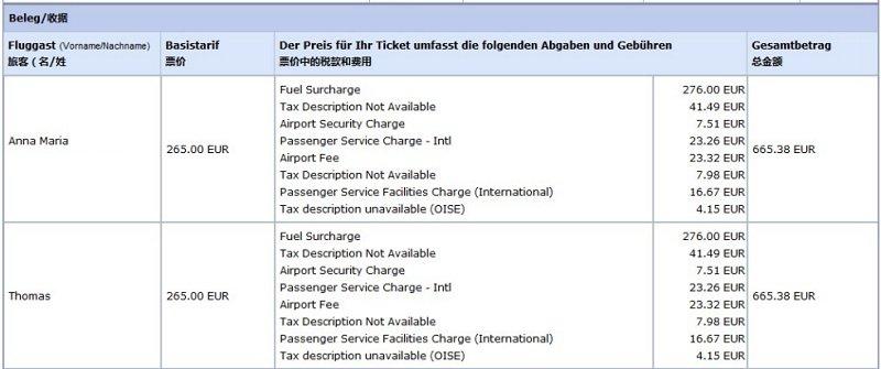 Flugkosten nach Tokio