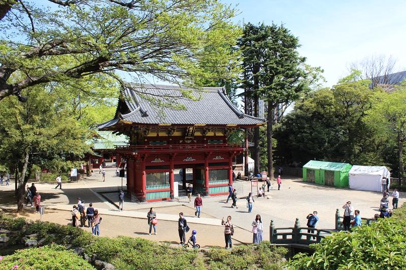 Rōmon Aussenbereich