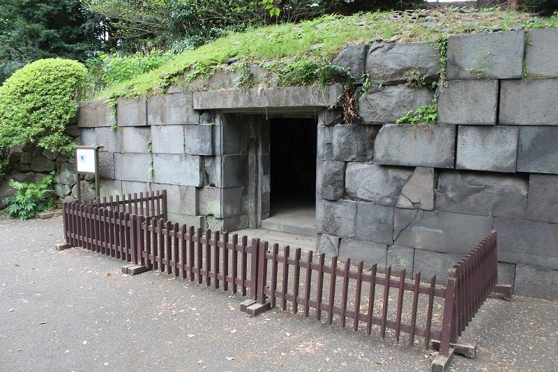 Schutzanlage im Kaiserpalast