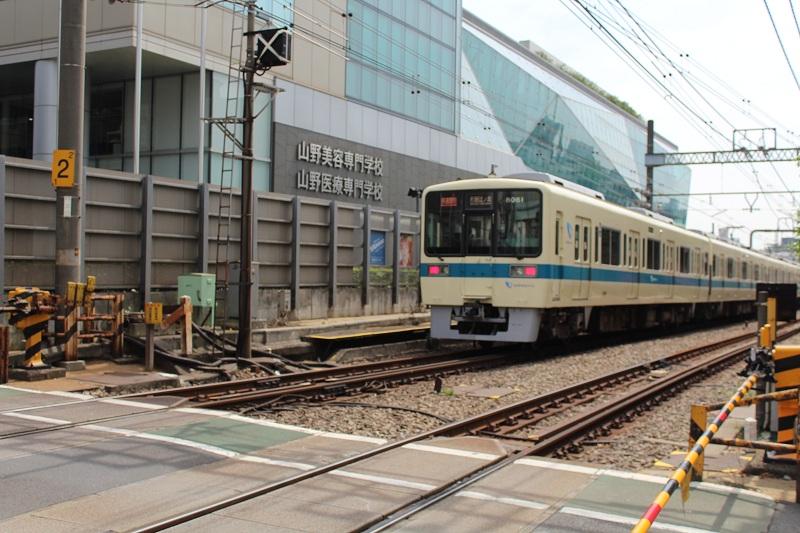 Zug in Tokio Sugamo