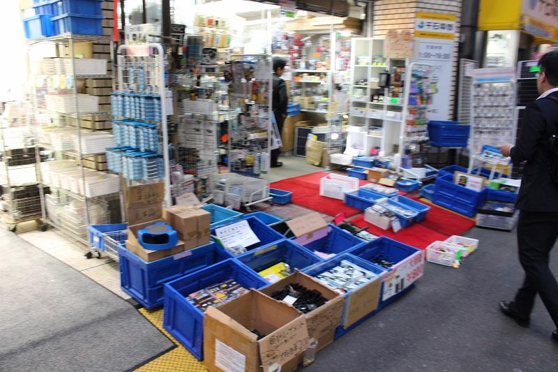 Elektroschrott in Akihabara