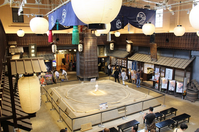Sumo Ring in Tokio