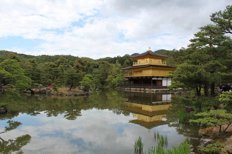 Kyoto - Goldener Tempel Kinkakuji