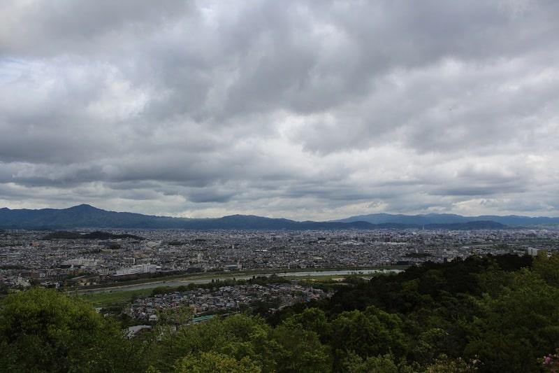 Arashiyama - Blick auf Kyoto