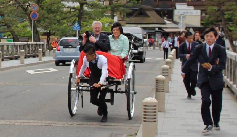 Arashiyama Rikscha Tour