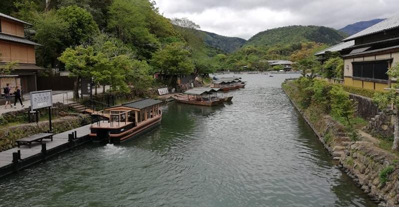 Bootstour in Arashiyama