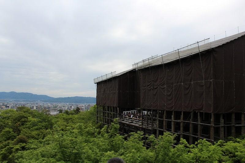 Kiyomizu-dera Tempel Haupthalle