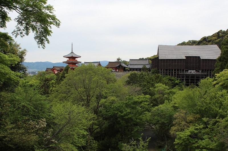 Kiyomizu-dera Tempel - Schönes Fotomotiv