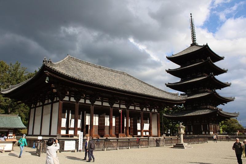 Kōfuku-ji Tempel in Nara