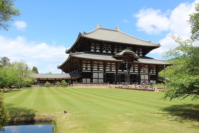 Tōdai-ji - Das größte Holzhaus der Welt